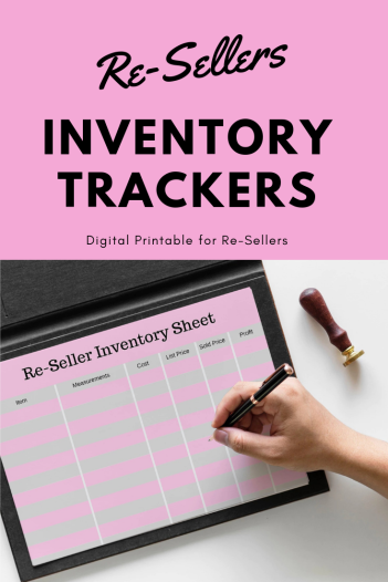 Re-Seller Inventory Tracker